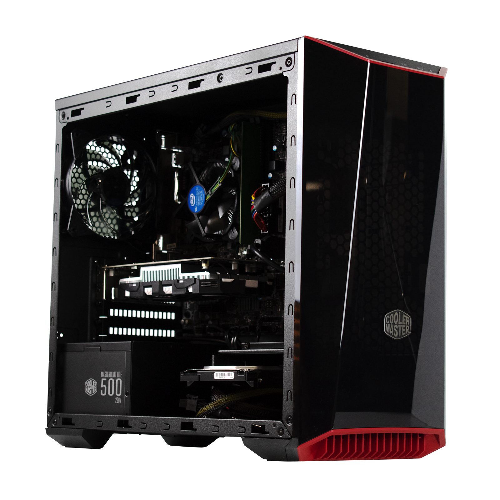 PC Gamer Dust ATLAS  <sup>v3</sup> Intel Core i5 7500 - Disque dur SSD 120Go - MSI GTX 1050 - 8Go DDR4 - DD 1To