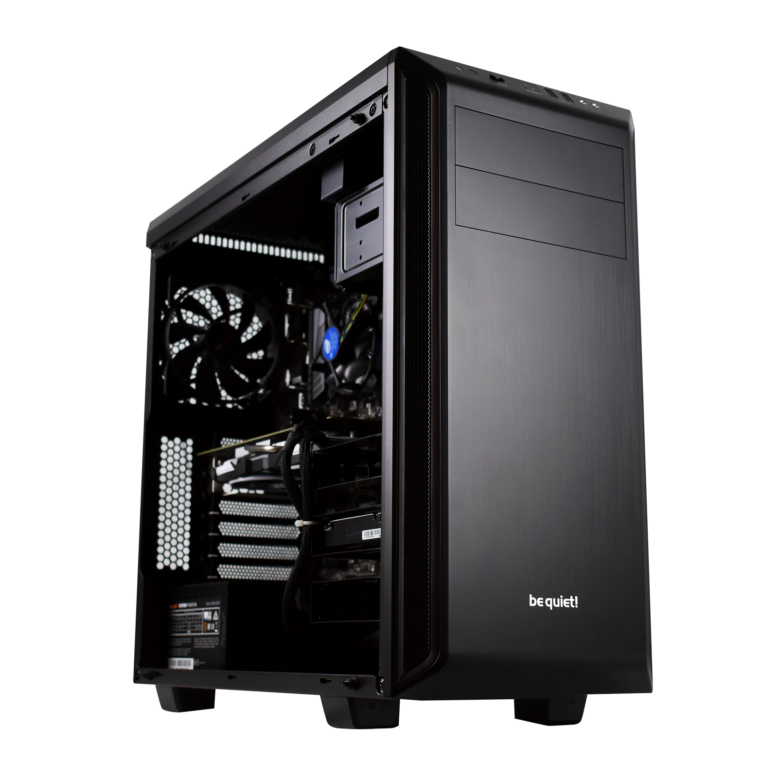 PC Gamer DARK MOON <sup>v3</sup> Intel Core i7 8700 - 16Go (2x8Go) DDR4 - MSI GTX 1060 6Go - SSD 240Go