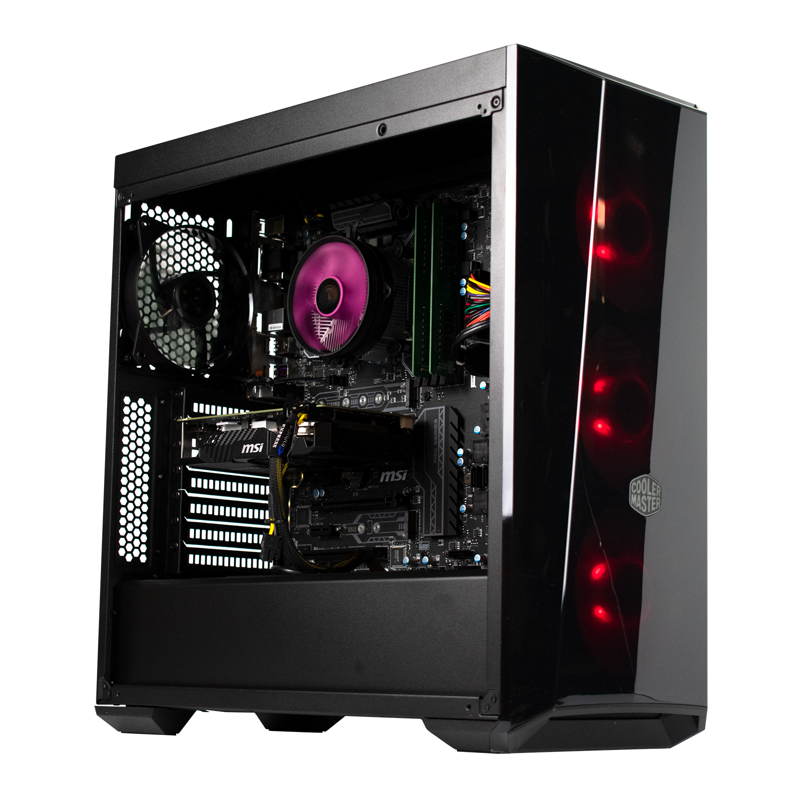 PC Gamer Dust RED ZONE <sup>v2</sup> Intel Core i5 8600K - 16Go (2x8Go) DDR4 - MSI GTX 1060  3Go - SSD 240Go