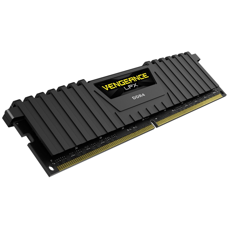 Mémoire PC Corsair 4Go DDR4 2400MHz PC19200 (CMK4GX4M1A2400C16) - Achat / Vente Mémoire PC sur Picata.fr - 1