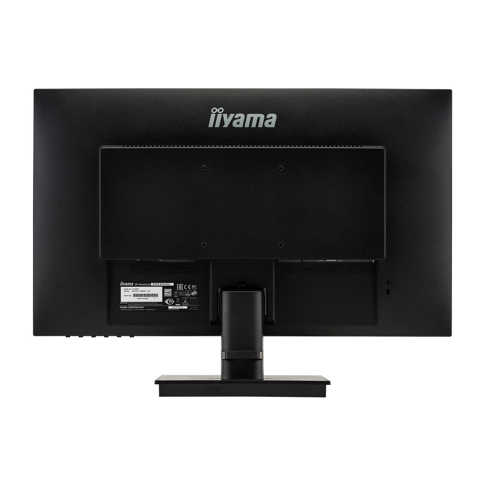Ecran PC Iiyama G-Master Black Hawk G2530HSU-B1 (G2530HSU-B1) - Achat / Vente Ecran PC sur Picata.fr - 1