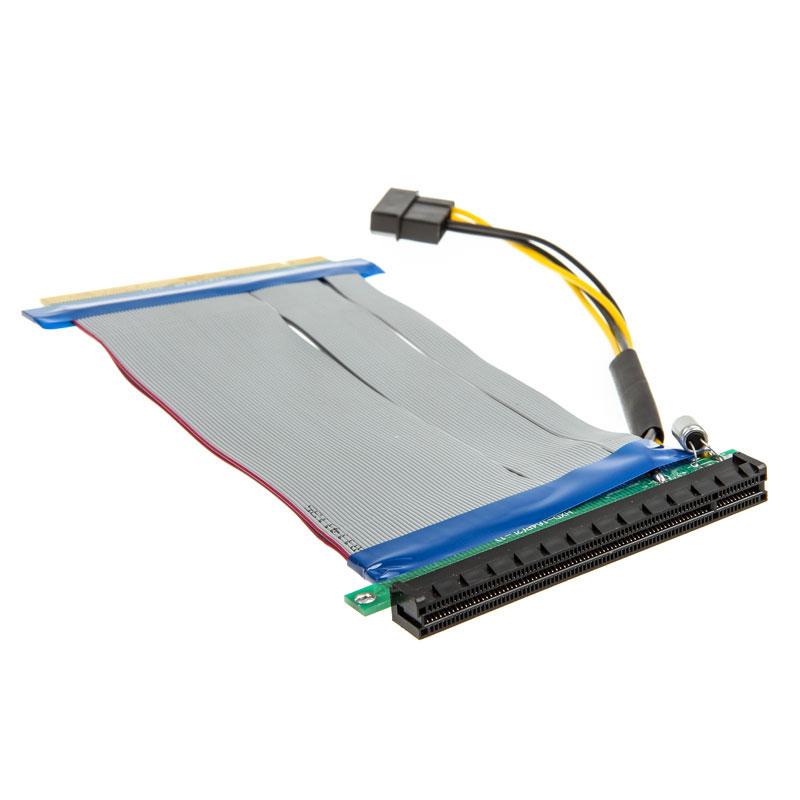 PCI-Express Riser 16x to 16x - 19cm (PGW-RC-MRK-004) - Achat / Vente Accessoire carte graphique sur Picata.fr - 1