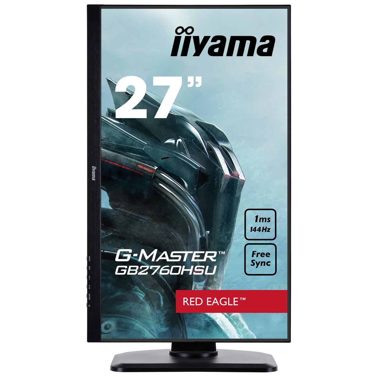 G-Master Red Eagle GB2760HSU-B1 (GB2760HSU-B1) - Achat / Vente Ecran PC sur Picata.fr - 3