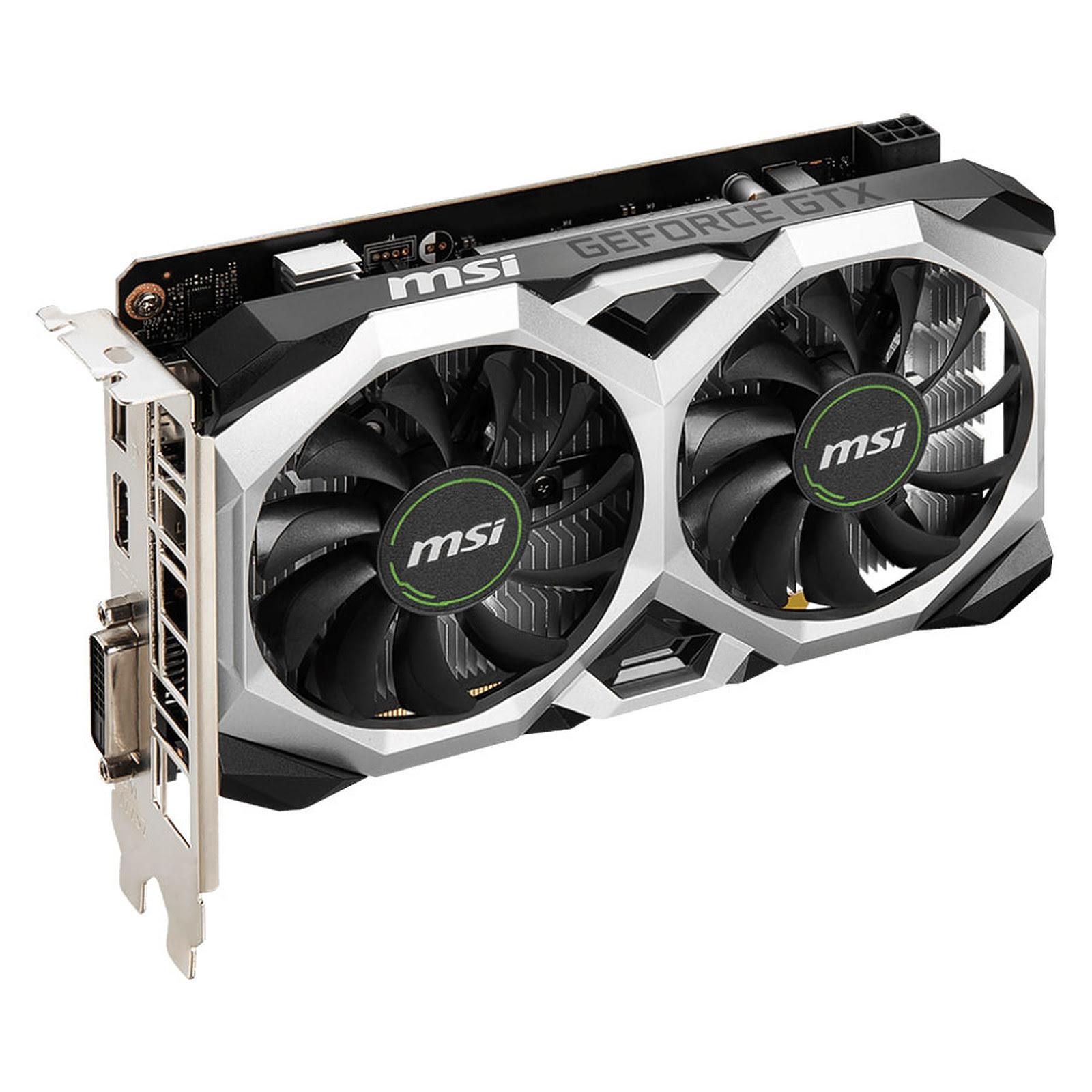 GeForce GTX 1650 D6 VENTUS XS OCV1 (912-V809-3616) - Achat / Vente Carte graphique sur Picata.fr - 2