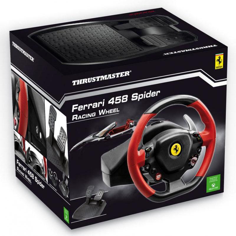 Ferrari F458 Spider Racing Wheel (4460105) - Achat / Vente Périphérique de jeu sur Picata.fr - 1