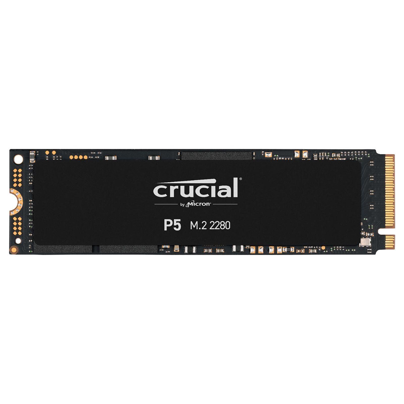 500Go M.2 NVMe - CT500P5SSD8 - P5 (CT500P5SSD8) - Achat / Vente Disque SSD sur Picata.fr - 2