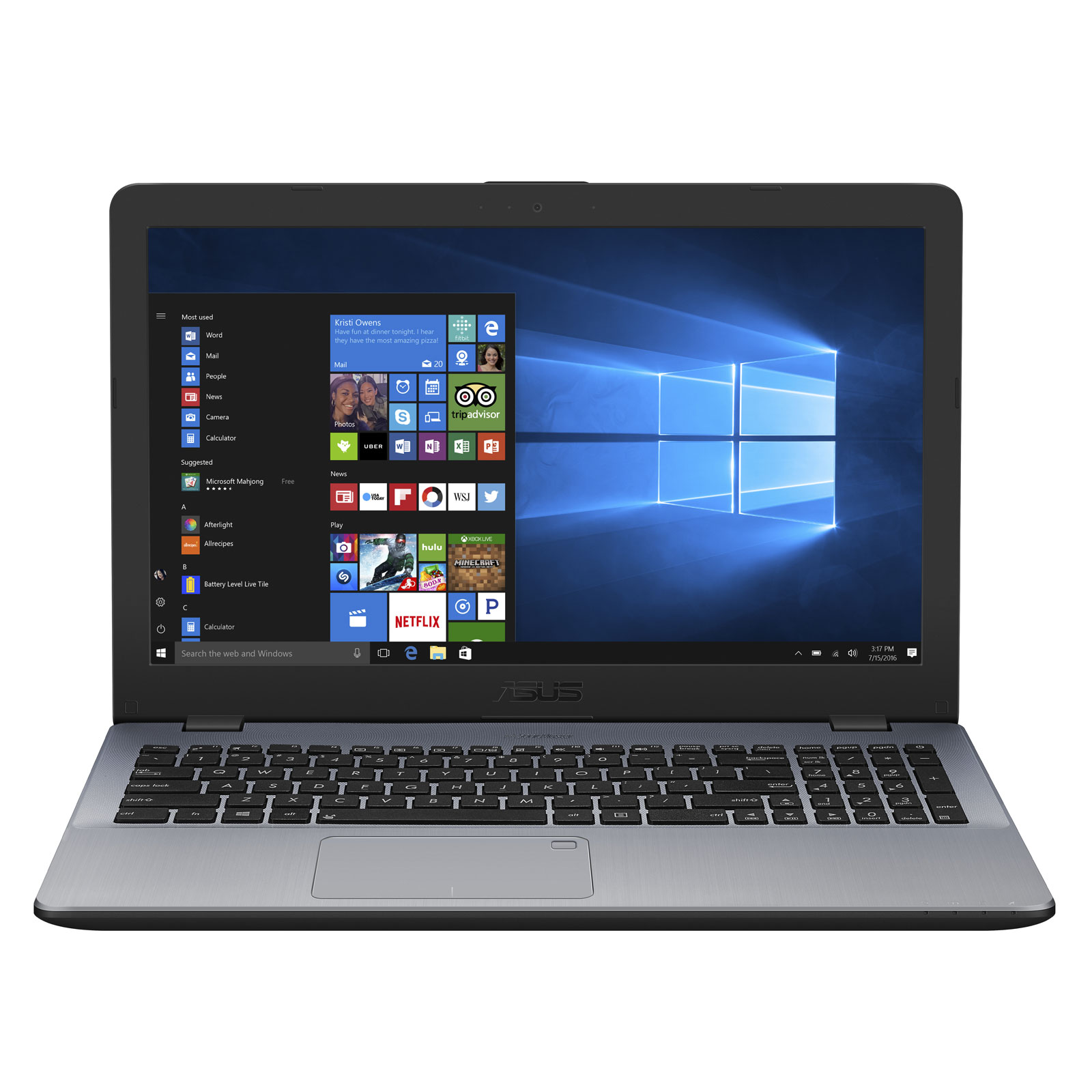 PC portable Asus P1501UA-GQ599R (90NB0F22-M08110) - Achat / Vente PC portable sur Picata.fr - 0