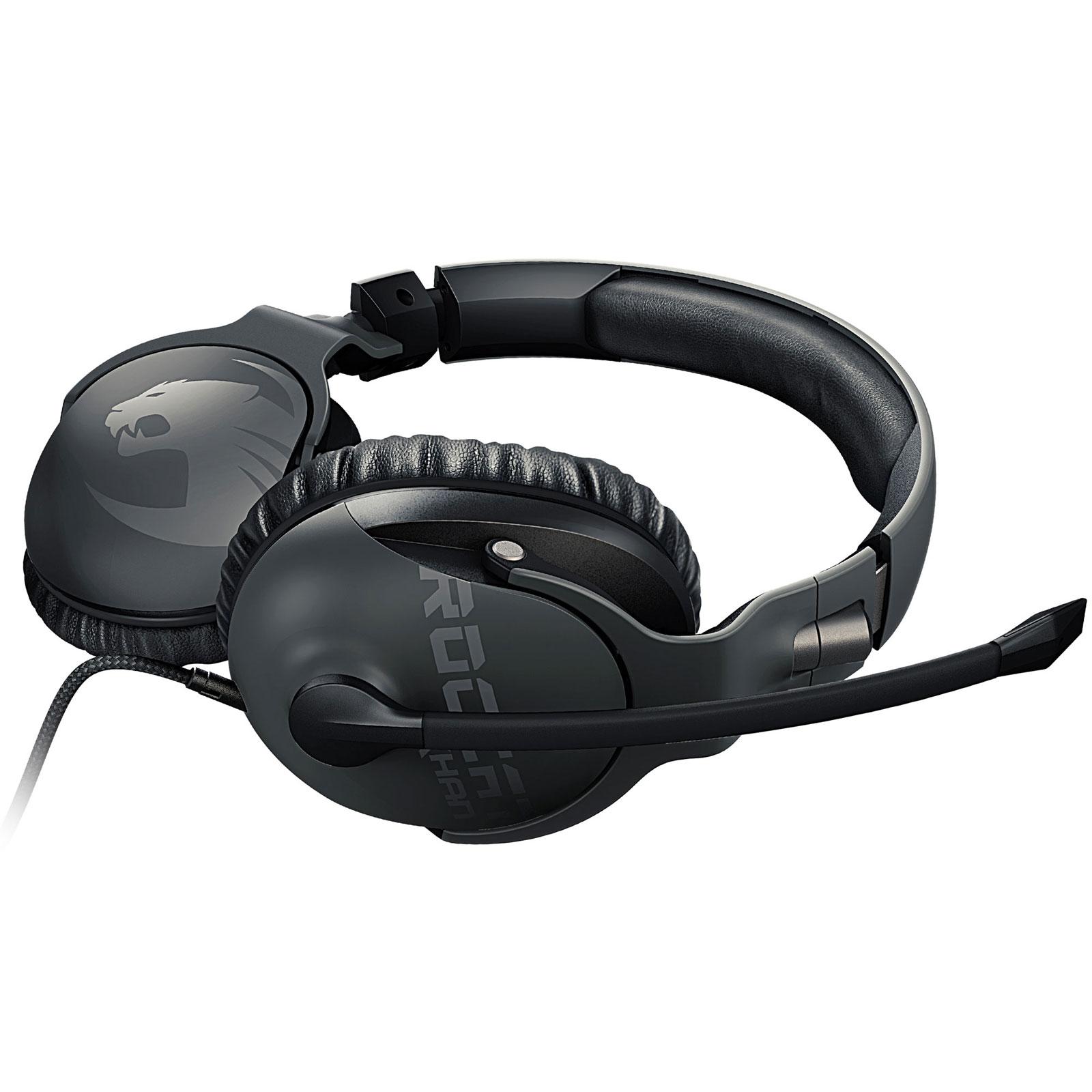 Khan PRO Gris (ROC-14-620) - Achat / Vente Micro-casque sur Picata.fr - 1