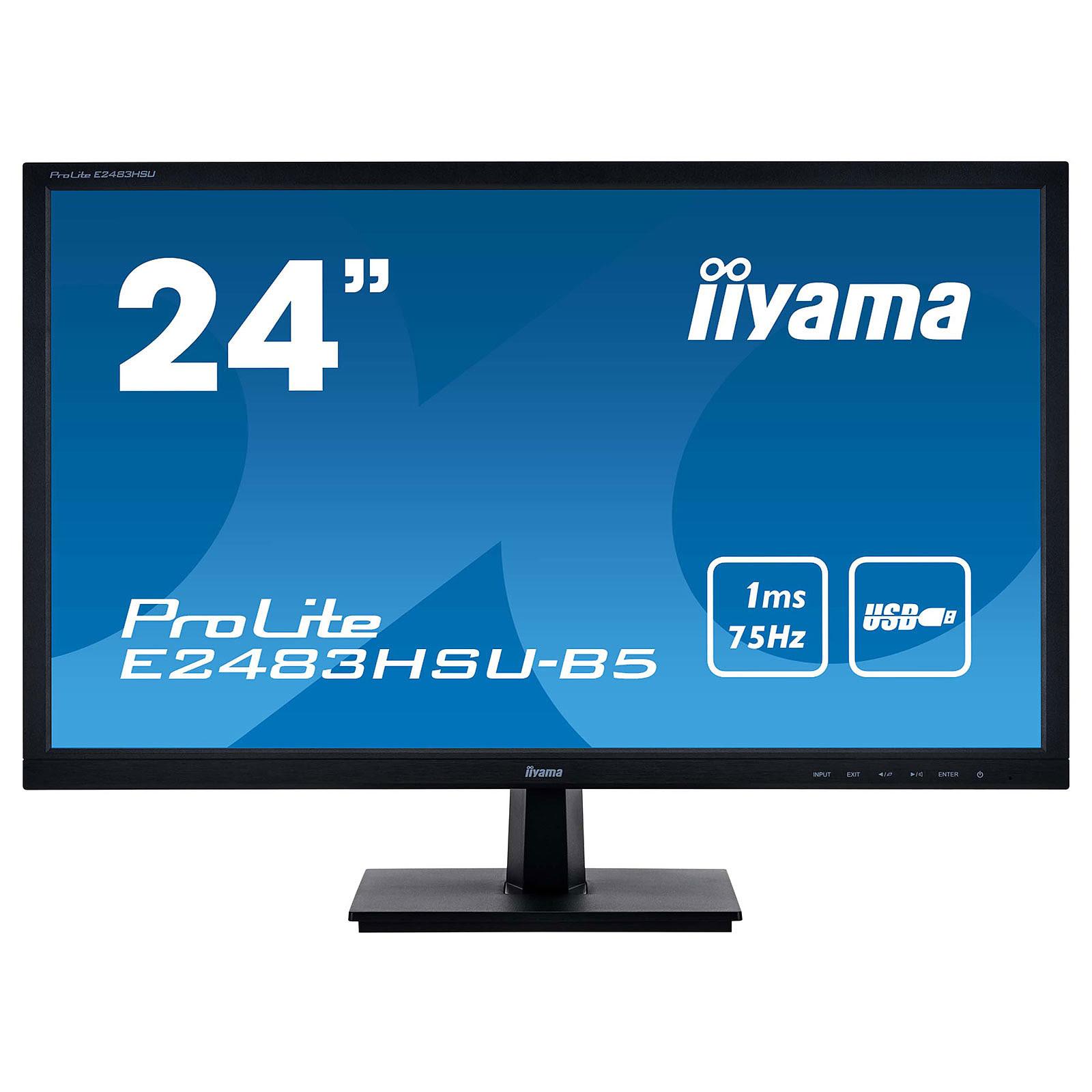 PROLITE E2483HSU-B5 (E2483HSU-B5) - Achat / Vente Ecran PC sur Picata.fr - 0