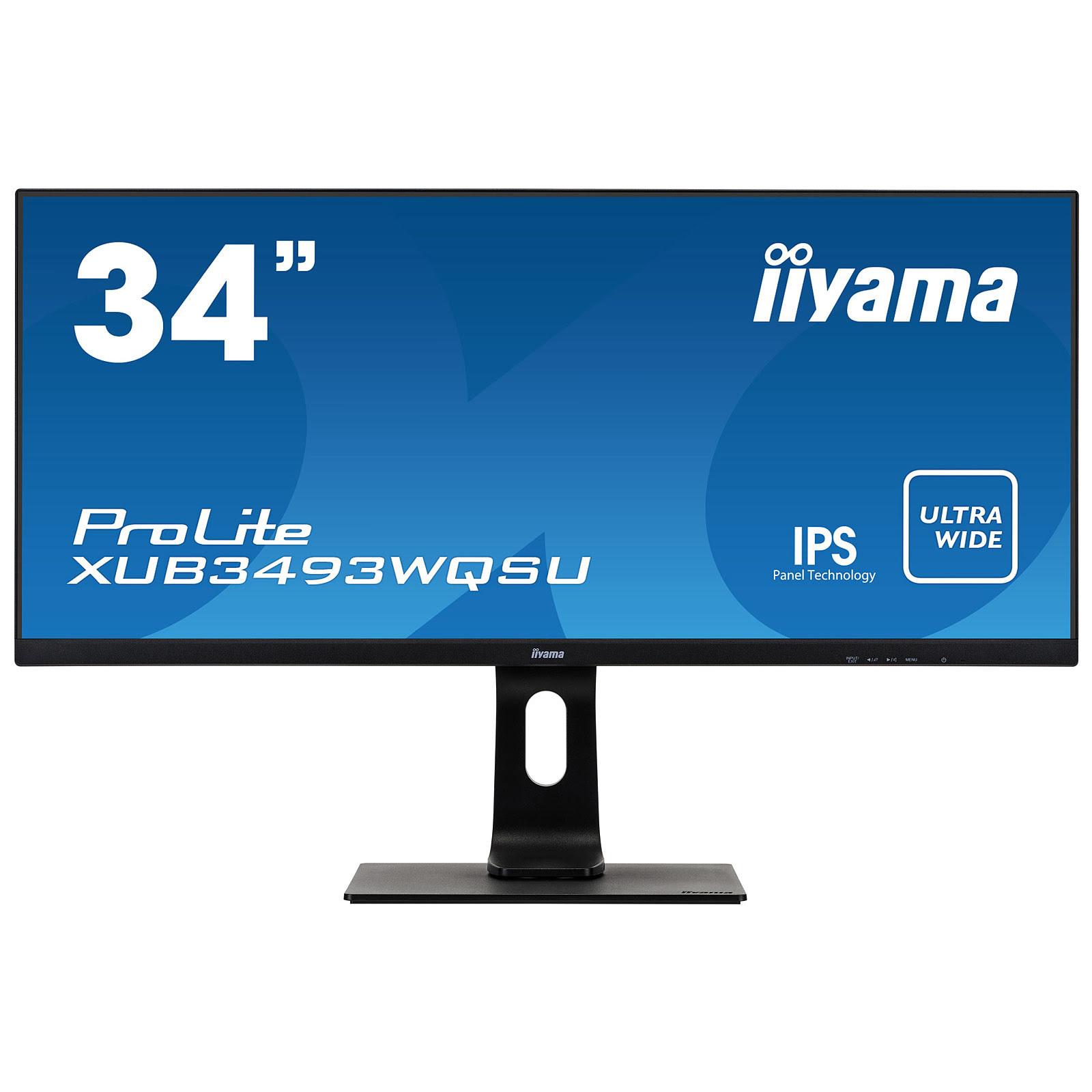 ProLite XUB3493WQSU-B1 (XUB3493WQSU-B1) - Achat / Vente Ecran PC sur Picata.fr - 0