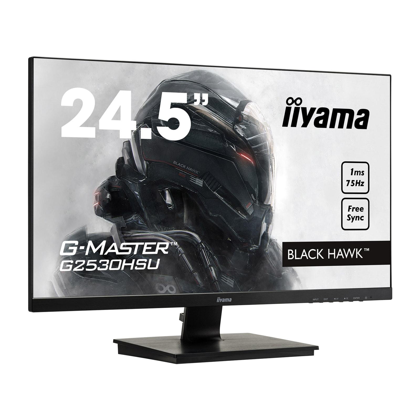 Ecran PC Iiyama G-Master Black Hawk G2530HSU-B1 (G2530HSU-B1) - Achat / Vente Ecran PC sur Picata.fr - 4