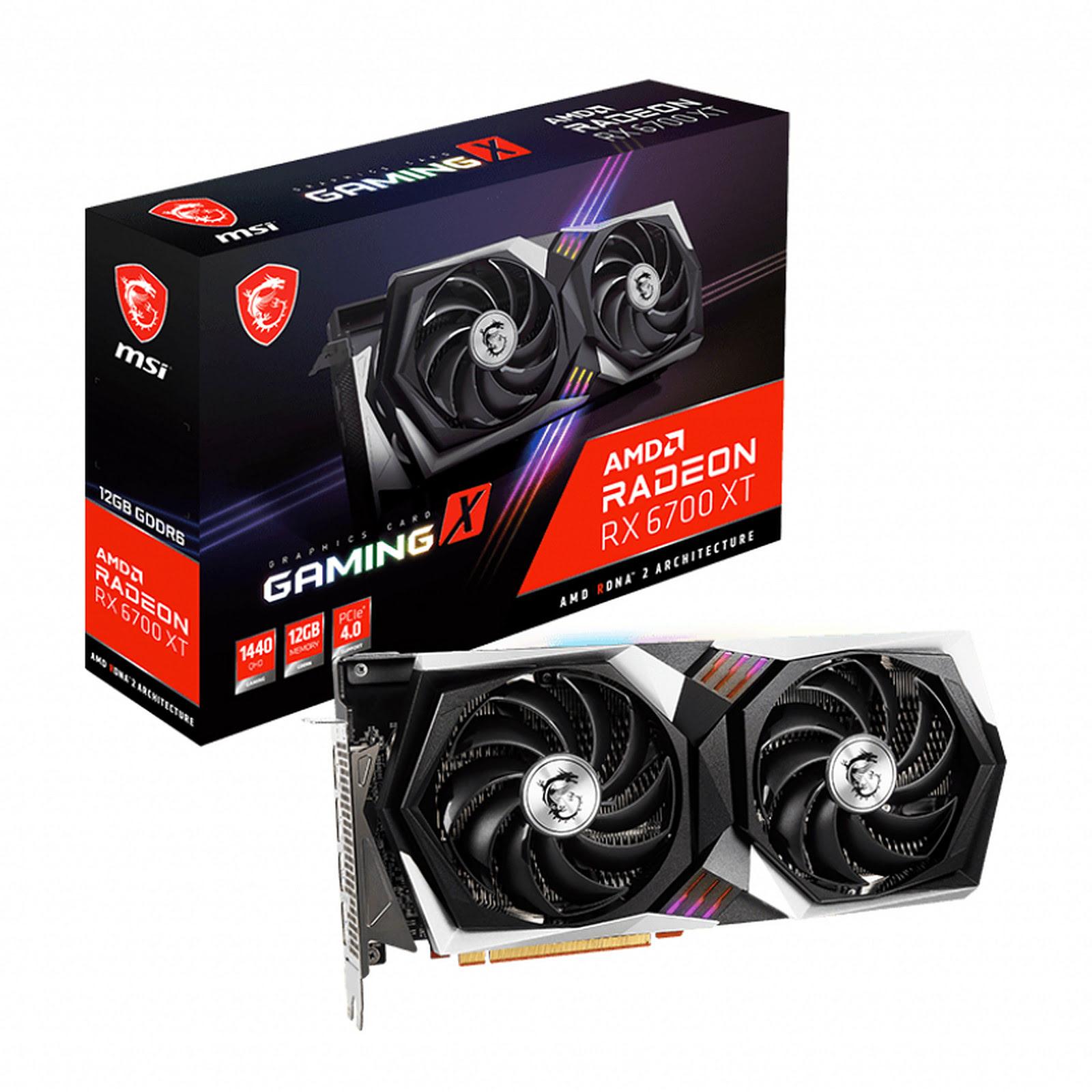 Radeon RX 6700 XT GAMING X 12G (912-V398-007) - Achat / Vente Carte graphique sur Picata.fr - 0