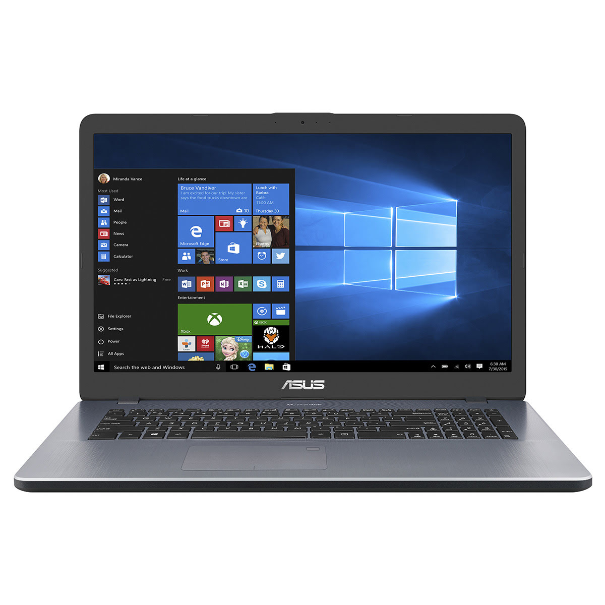 Vivobook 17 X705UF-GC119T  (90NB0IE1-M01500) - Achat / Vente PC portable sur Picata.fr - 1