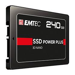 image produit Emtec 240Go SATA III - X150 Power Plus Picata