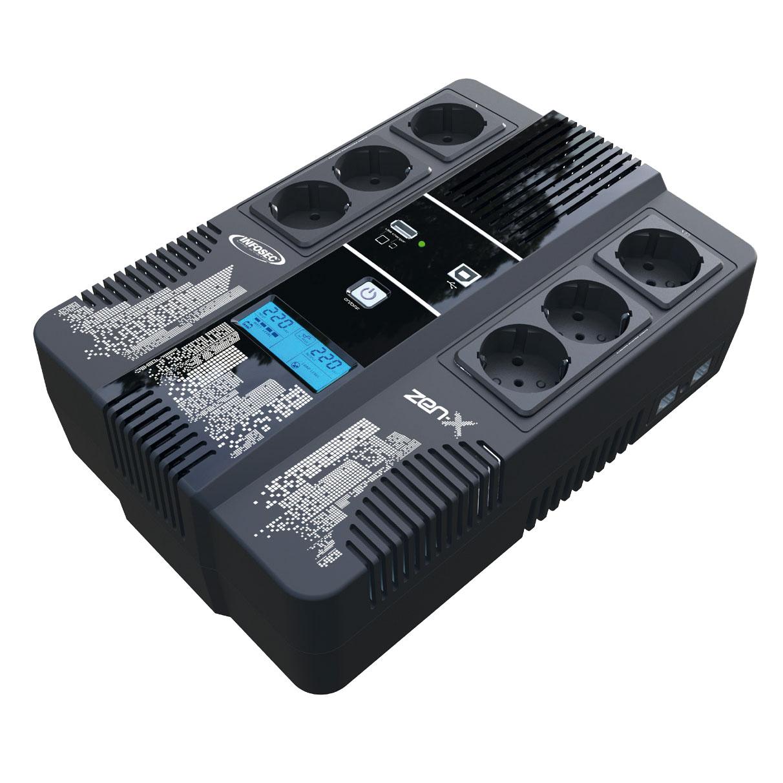 Onduleur - Multiprises Infosec ZEN-X 600VA (66070) - Achat / Vente Onduleur - Multiprises sur Picata.fr - 0