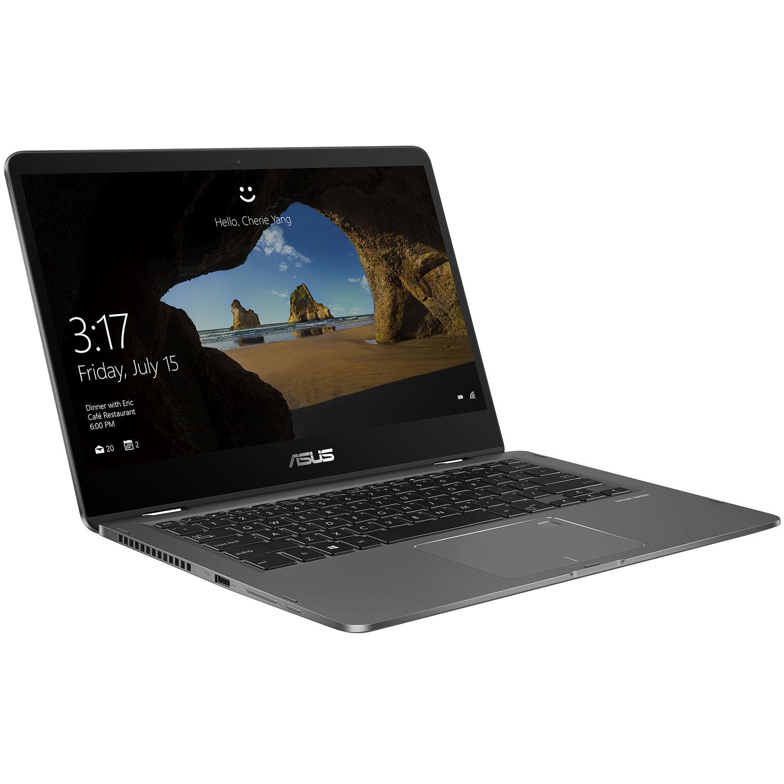 ZenBook Flip 14 UX461UA E1012RB (90NB0GG1-M02090) - Achat / Vente PC portable sur Picata.fr - 4