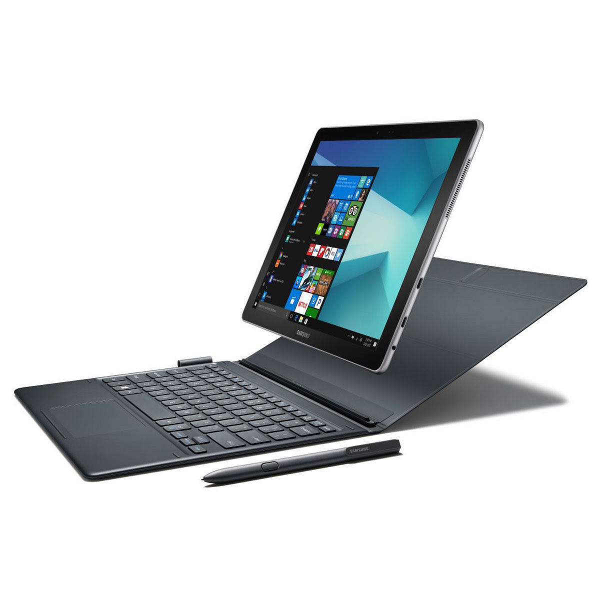 "Galaxy Book 12 W720 - i5-7200/4Go/128Go/12""/10 (SM-W720NZKBXEF) - Achat / Vente Tablette tactile sur Picata.fr - 0"