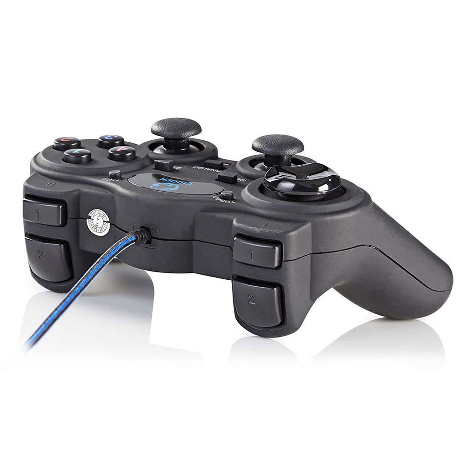 Manette de Jeu - 12 boutons/vibration/USB (GGPD100BK ++) - Achat / Vente Périphérique de jeu sur Picata.fr - 1
