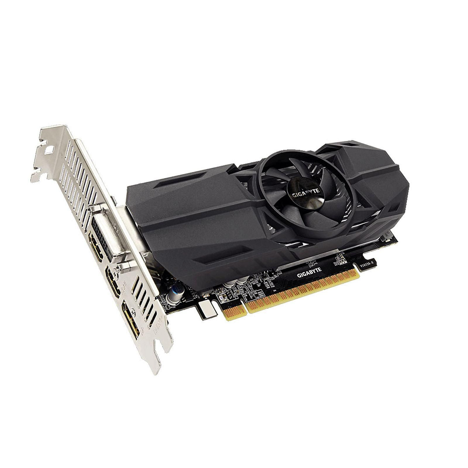 GeForce GTX 1050 Ti OC Low Profile 4G (GV-N105TOC-4GL) - Achat / Vente Carte graphique sur Picata.fr - 2