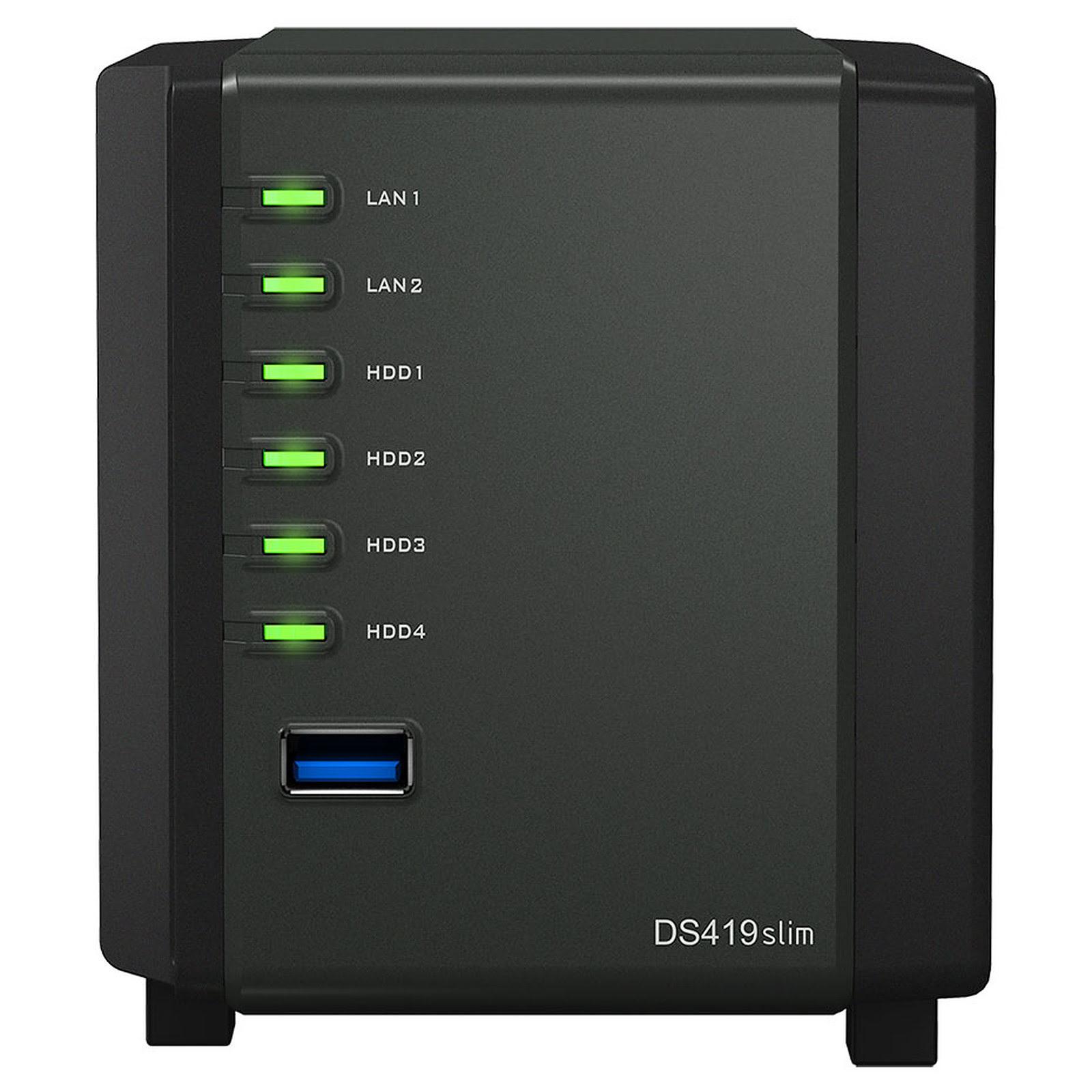 DiskStation DS419slim (DS419SLIM) - Achat / Vente Serveur NAS sur Picata.fr - 2