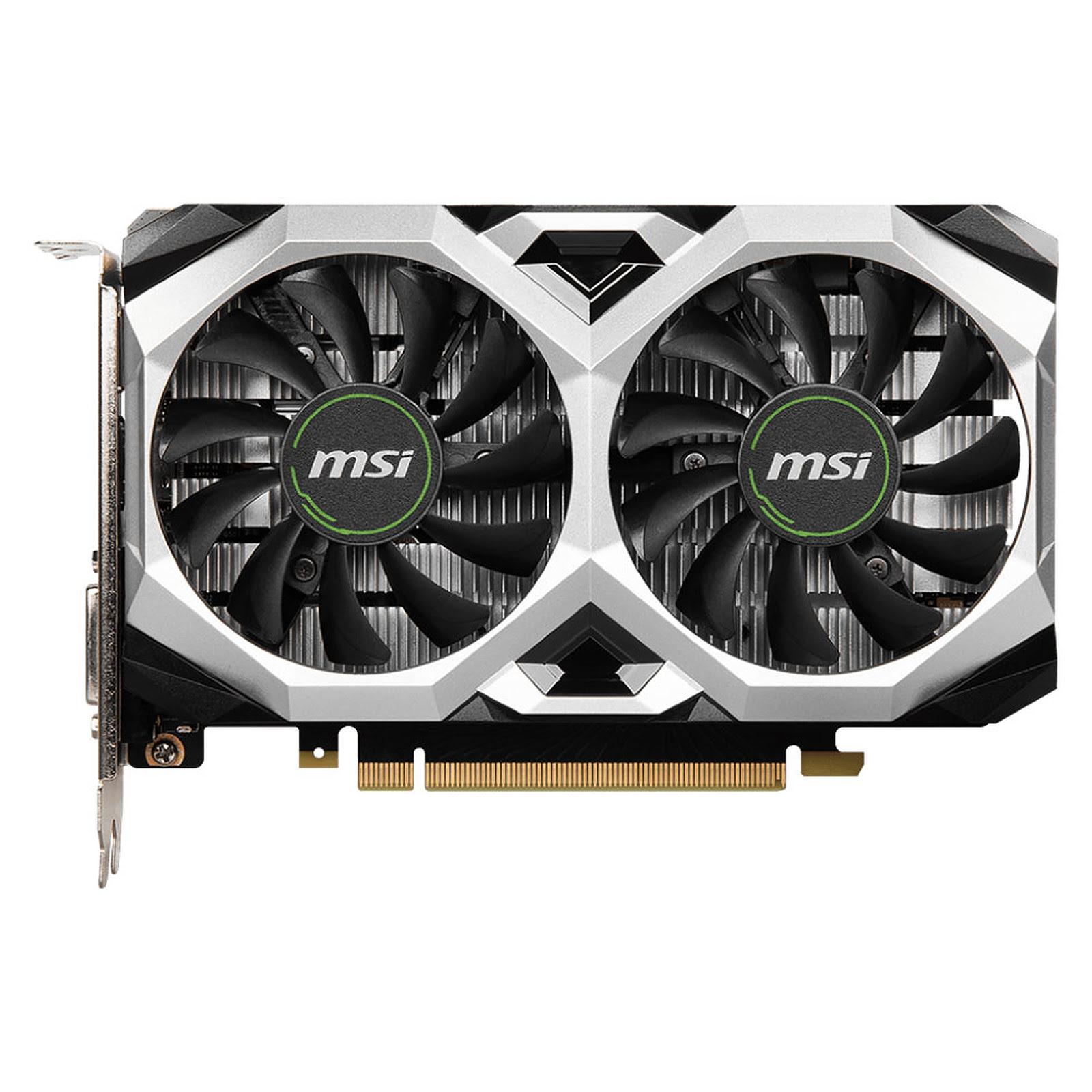 GeForce GTX 1650 D6 VENTUS XS OCV1 (912-V809-3616) - Achat / Vente Carte graphique sur Picata.fr - 4