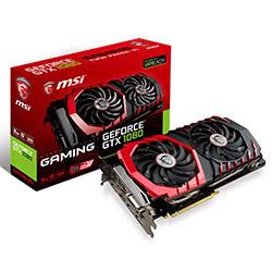 image produit MSI GTX 1080 GAMING 8G - 1080/8Go/DVI/HDMI/3xDP Picata