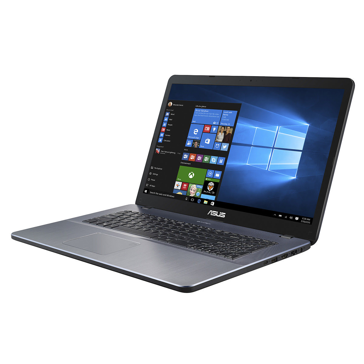 X705UF-GC118T - i5 8250/8G/256G+500G/MX130/17.3/10 (90NB0IE1-M01490) - Achat / Vente PC portable sur Picata.fr - 1