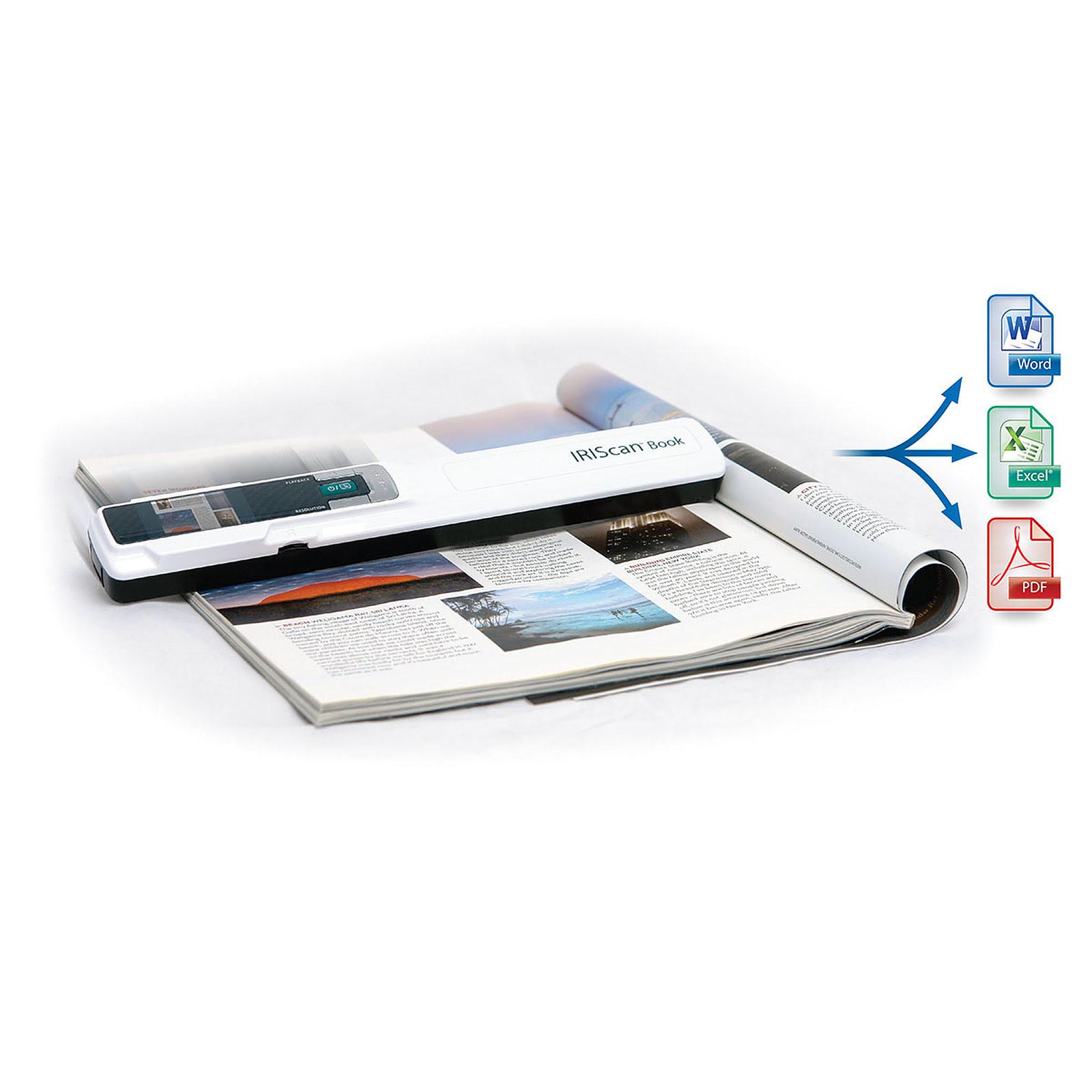 Scanner Iris IRIScan Book 3 (457888) - Achat / Vente Scanner sur Picata.fr - 2