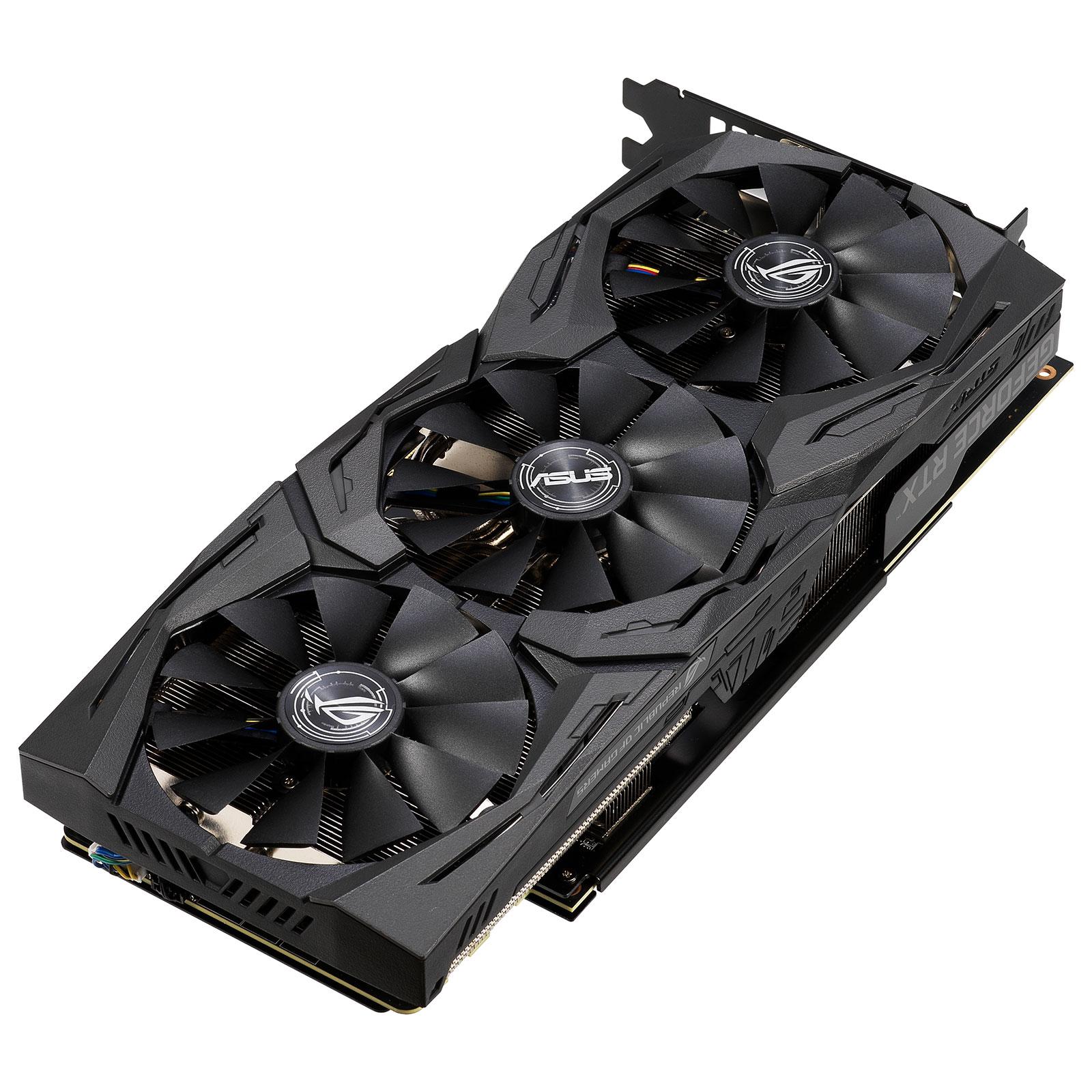 ROG Strix GeForce RTX 2060 OC Edition 6GB GDDR6 (90YV0CI0-M0NA00) - Achat / Vente Carte graphique sur Picata.fr - 2