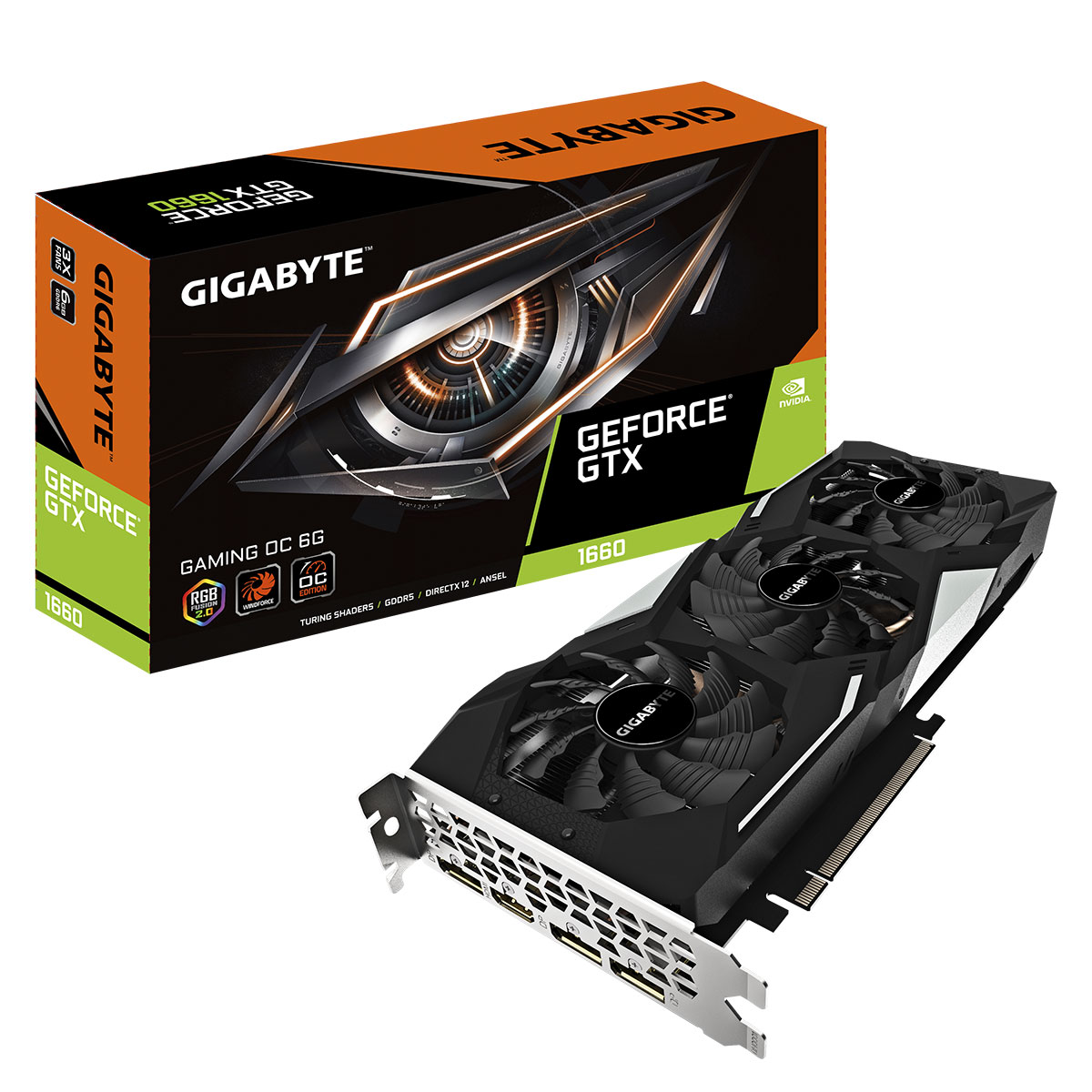 GeForce GTX 1660 Gaming OC 6G (GV-N1660GAMING OC-6GD) - Achat / Vente Carte graphique sur Picata.fr - 0