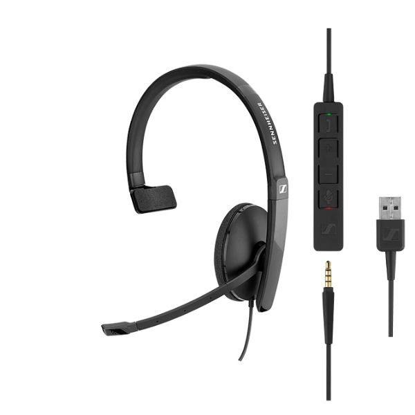SC 135 USB/Jack (508316) - Achat / Vente Micro-casque sur Picata.fr - 0