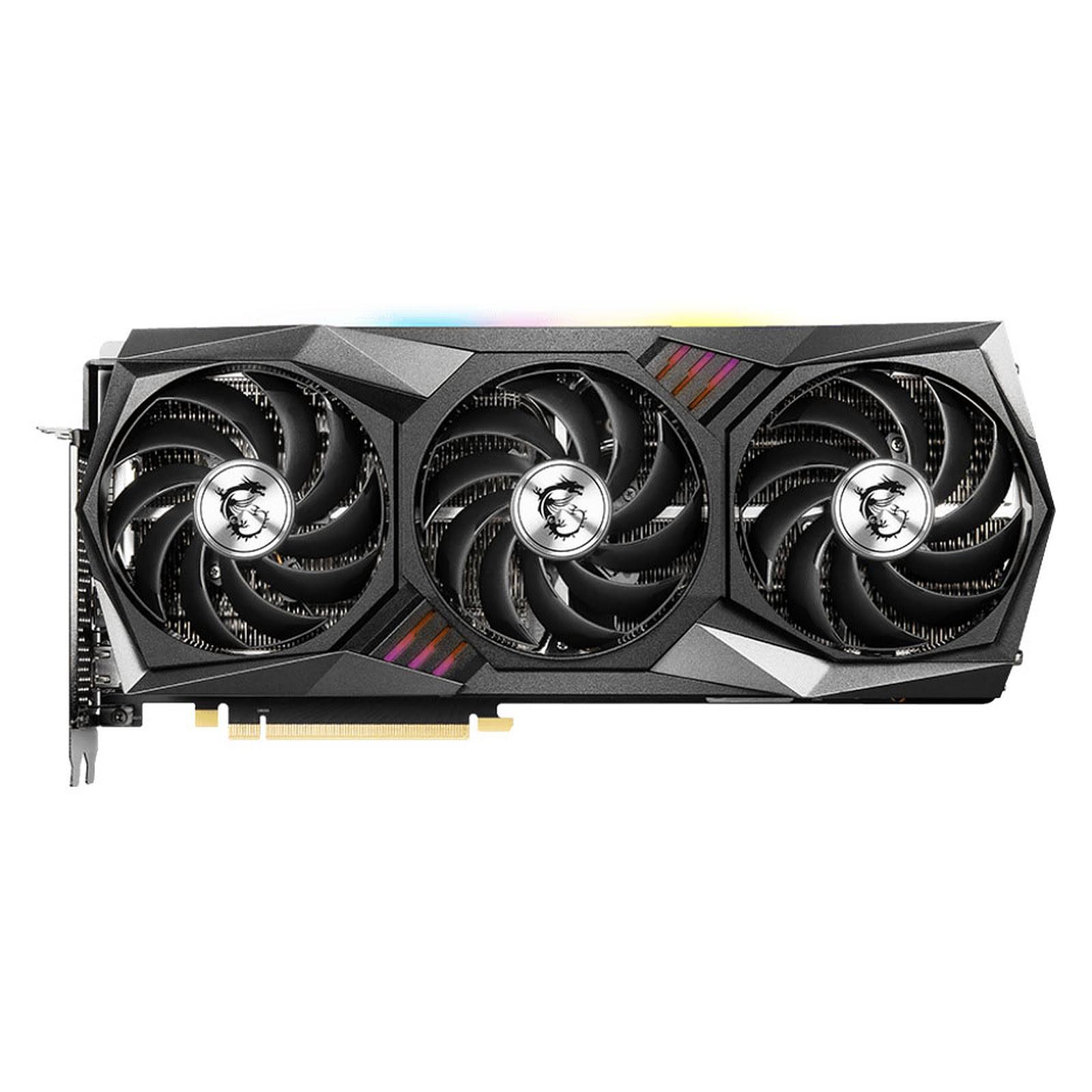 GeForce RTX 3080 GAMING Z TRIO 10G LHR (912-V389-205) - Achat / Vente Carte graphique sur Picata.fr - 4