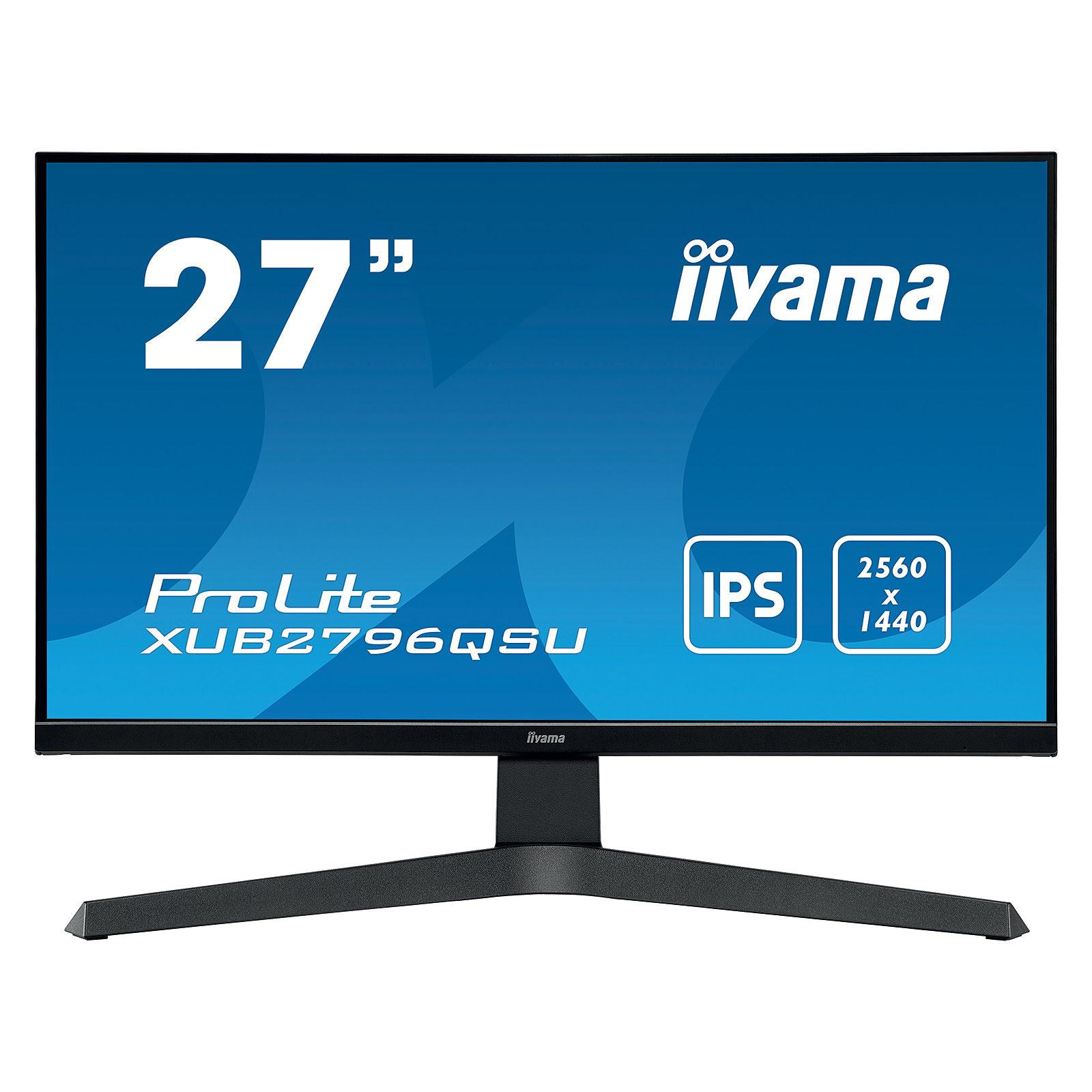 ProLite XUB2796QSU-B1 (XUB2796QSU-B1) - Achat / Vente Ecran PC sur Picata.fr - 0
