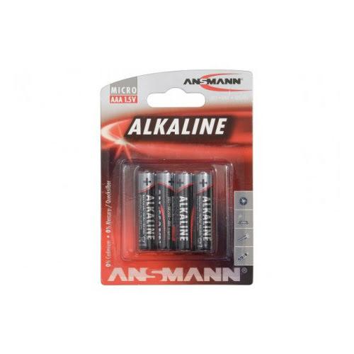 Lot de 4 Piles AAA Alkaline (958440 / 5015553) - Achat / Vente Pile sur Picata.fr - 0
