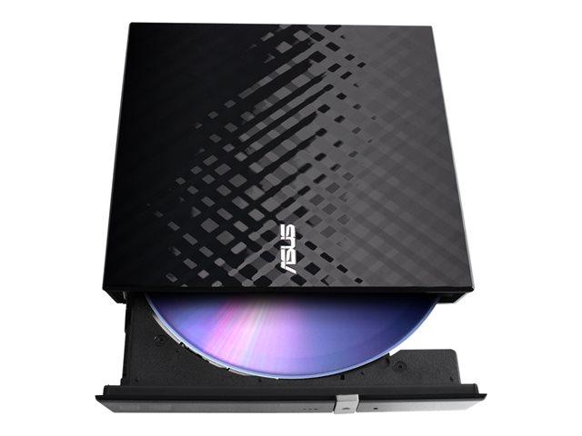 Graveur Externe - USB2.0  DVD±RW (±R DL)/DVD-RAM  8x - SLIM - Noir (90-DQ0435-UA221KZ) - Achat / Vente Graveur sur Picata.fr - 2