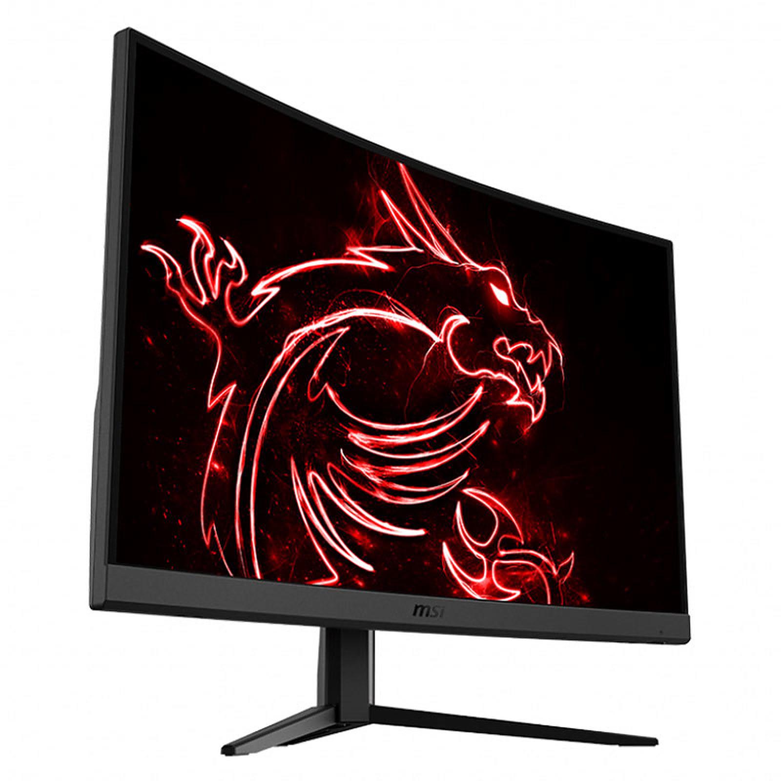 """OPTIX G32C4 - 31.5"""" Incurvé/1ms/FHD/165Hz/FS/DP (9S6-3DA61T-007) - Achat / Vente Ecran PC sur Picata.fr - 4"""