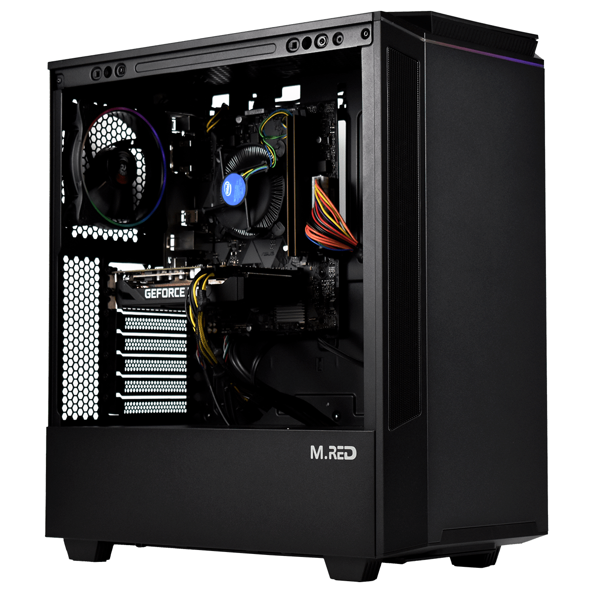 PC Gamer Dust ATHENA <sup>v4</sup> Processeur Intel Core i5 9600k - RAM 8Go DDR4 - MSI GTX 1660 6Go - SSD 240Go