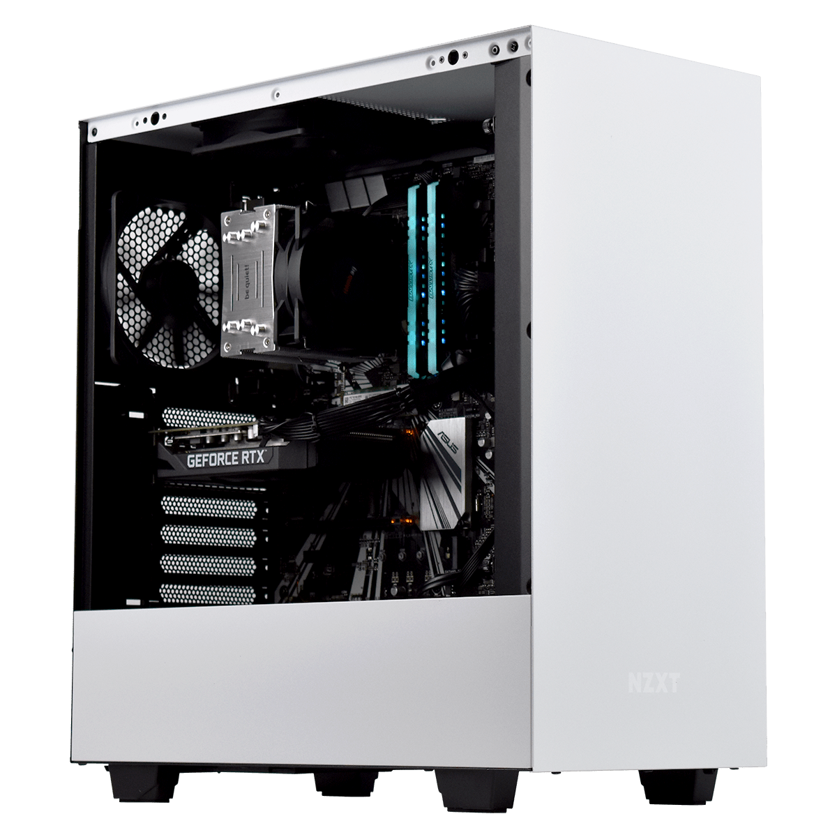 PC Gamer DARK MOON <sup>v8</sup> Intel Core i7 9700K - 16Go (2x8Go) DDR4 - PNY RTX 2060 6Go - SSD 240Go