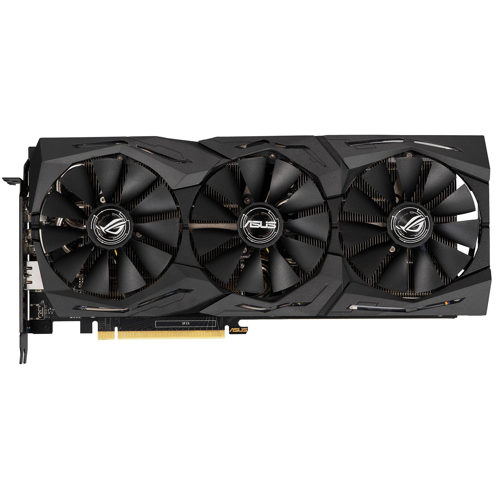 ROG Strix GeForce RTX 2060 OC Edition 6GB GDDR6 (90YV0CI0-M0NA00) - Achat / Vente Carte graphique sur Picata.fr - 4