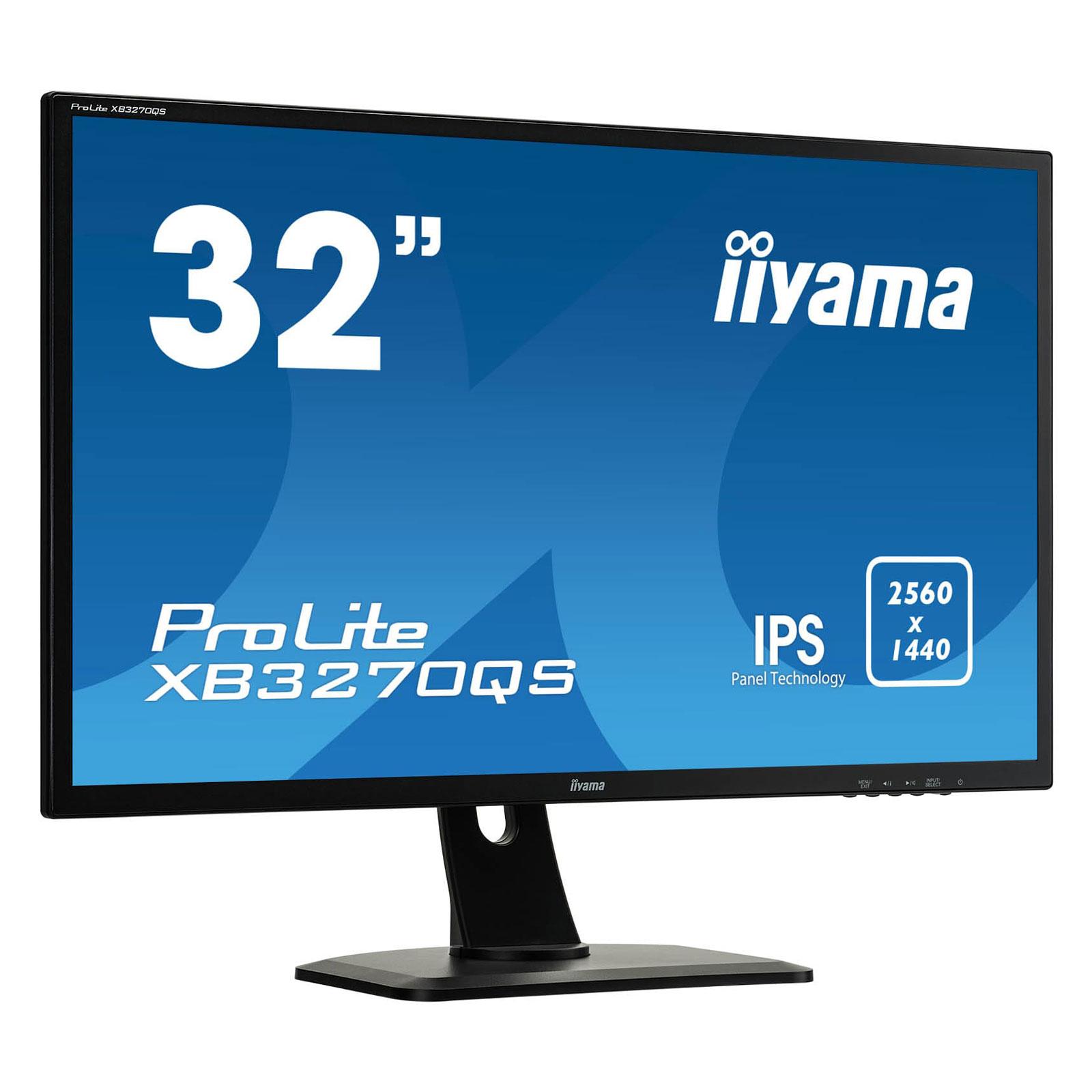 ProLite XB3270QS-B1 (XB3270QS-B1) - Achat / Vente Ecran PC sur Picata.fr - 4