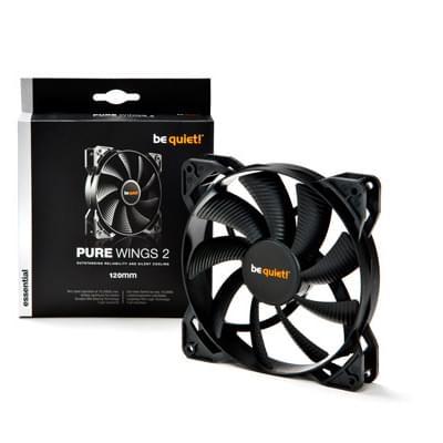 Ventilateur boîtier Be Quiet! Case Fan Pure Wings 2 120mm (BL046) - Achat / Vente Ventilateur boîtier sur Picata.fr - 0