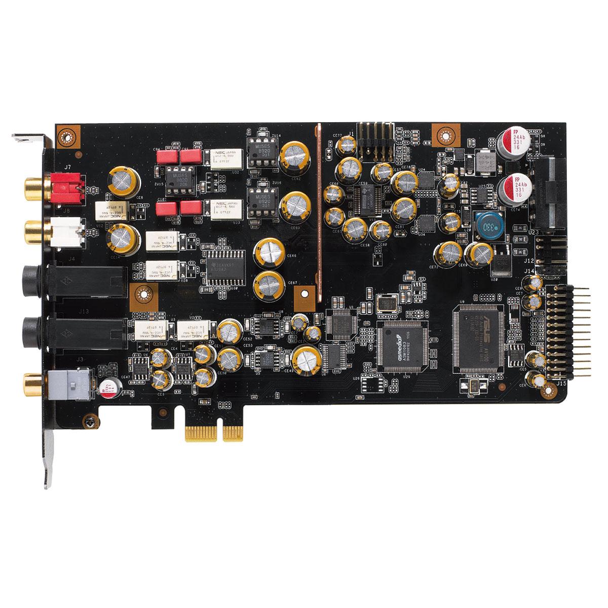 Xonar Essence STX II 7.1 PCI-E (90YA00NN-M0UA00) - Achat / Vente Carte son sur Picata.fr - 2