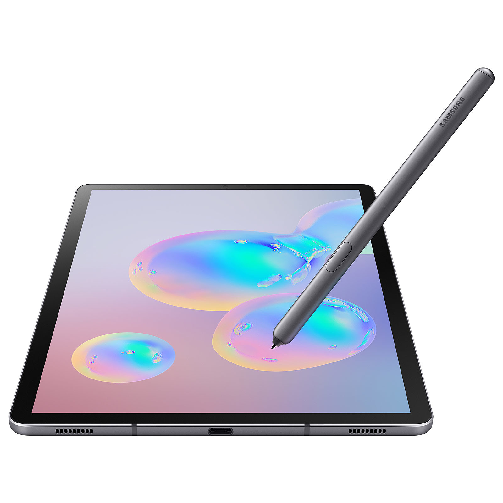 Galaxy Tab S6 Gris Titane 256Go (SM-T860NZALXEF) - Achat / Vente Tablette tactile sur Picata.fr - 2