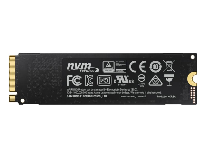 250Go NVMe M.2 - 970 EVO PLUS (MZ-V7S250BW) - Achat / Vente Disque SSD sur Picata.fr - 3