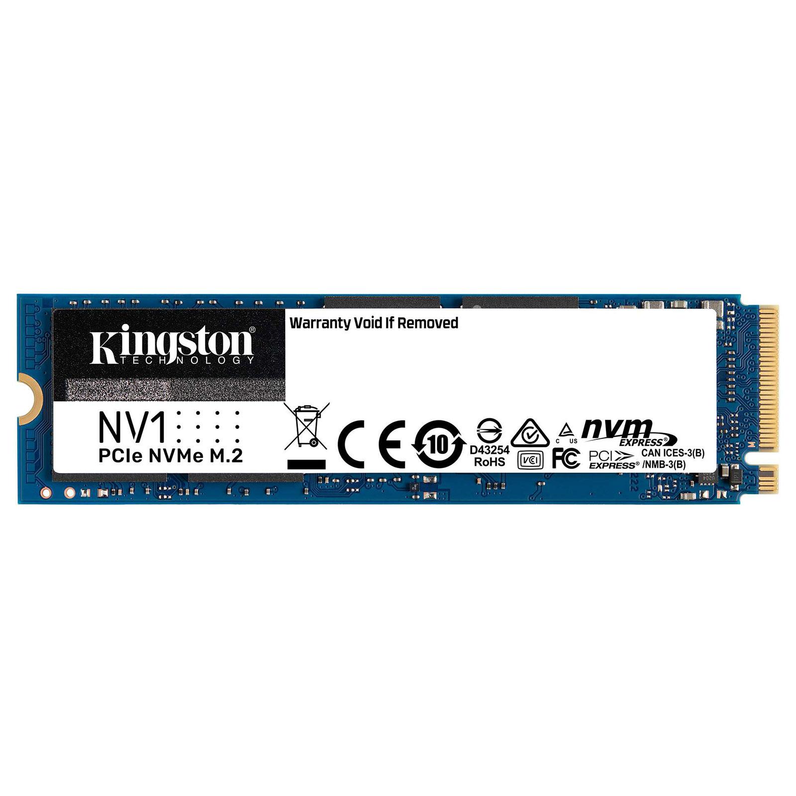 500Go SSD M.2 NVMe - SNVS/500G - NV1 (SNVS/500G) - Achat / Vente Disque SSD sur Picata.fr - 1