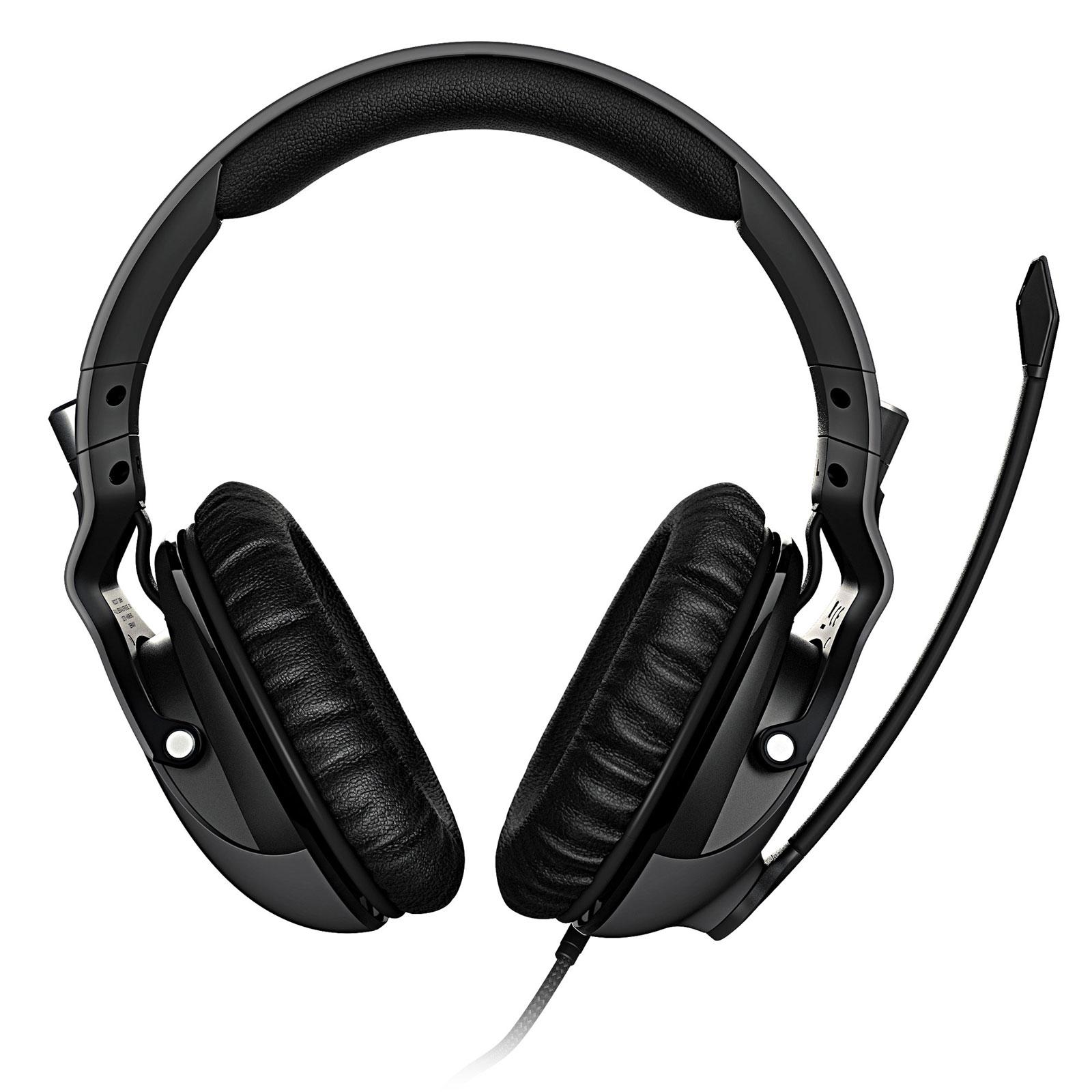 Khan PRO Gris (ROC-14-620) - Achat / Vente Micro-casque sur Picata.fr - 2
