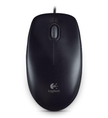 Souris PC Logitech B100 Optical Mouse for Business (910-003357) - Achat / Vente Souris PC sur Picata.fr - 0